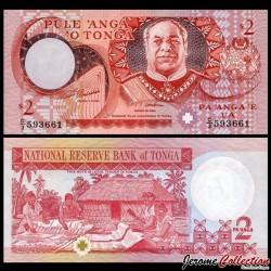 TONGA - Billet de 2 Pa'anga - 1995
