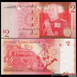TONGA - Billet de 2 Pa'anga - Rugby - 2009