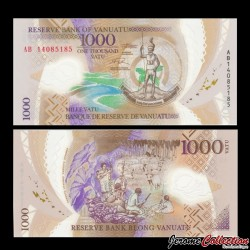 VANUATU - Billet de 1000 Vatu - Polymer - 2014