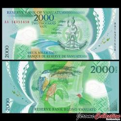 VANUATU - Billet de 2000 Vatu - Polymer - 2014