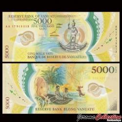 VANUATU - Billet de 5000 Vatu - Polymer - 2017