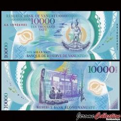 VANUATU - Billet de 10000 Vatu - Polymer - 2010