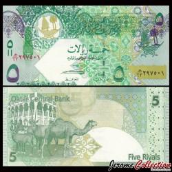 QATAR - Billet de 5 Riyal - 2008