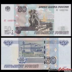 RUSSIE - Billet de 50 Roubles - 2004