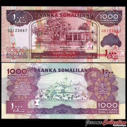 SOMALILAND - Billet de 1000 Shillings - 2015 P20d