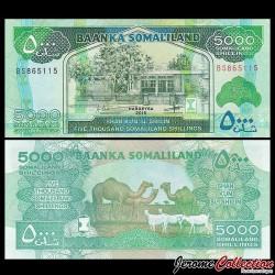 SOMALILAND - Billet de 5000 Shillings - 2015 P21c