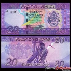 SALOMON (ILES) - Billet de 20 DOLLARS - 2017