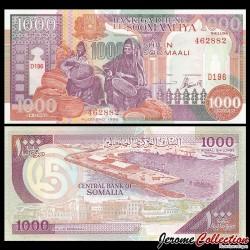 SOMALIE - Billet de 1000 Shillings - 1996
