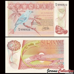 SURINAME - Billet de 2 ½ Gulden - 1985