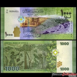 SYRIE - Billet de 1000 Pounds - 2013 P116a