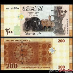 SYRIE - Billet de 200 Pounds - 2009 P114a