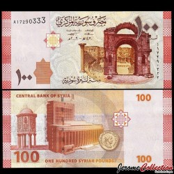 SYRIE - Billet de 100 Pounds - 2009 P113a