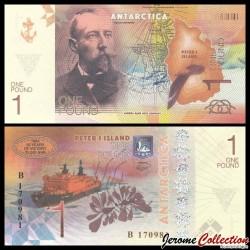 ILE PIERRE 1er / PETER ISLAND - Billet de 1 Pound - Roald Amundsen - 2017