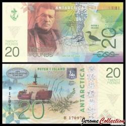 ILE PIERRE 1er / PETER ISLAND - Billet de 20 Pounds - Ernest Henry Shackleton - 2017 0020