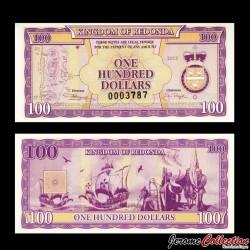 REDONDA - Billet de 100 DOLLARS - 2013