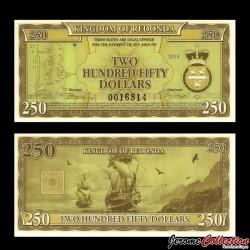 REDONDA - Billet de 250 DOLLARS - 2013