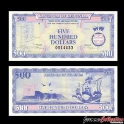 REDONDA - Billet de 500 DOLLARS - 2013