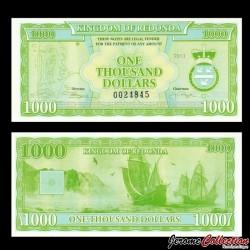 REDONDA - Billet de 1000 DOLLARS - 2013