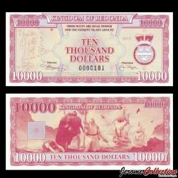 REDONDA - Billet de 10000 DOLLARS - 2013