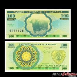 KATANGA - Billet de 100 Francs - Buffle - 2013