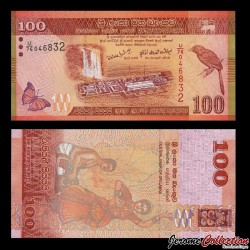 SRI LANKA - Billet de 100 Roupies - 2010