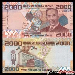 SIERRA LEONE - Billet de 2000 Leones - 27.04.2010 P31a