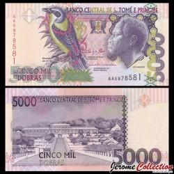 SAO TOMÉ-ET-PRINCIPE - Billet de 5000 Dobras - 31.12.2013