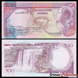 SAO TOMÉ-ET-PRINCIPE - Billet de 500 Dobras - 26.08.1993 P63a