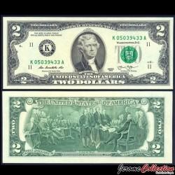 ETATS UNIS / USA - Billet de 2 DOLLARS - 2013 - K(11) Dallas P538