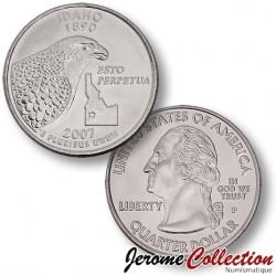 ETATS-UNIS / USA - PIECE de 25 Cents (Quarter States) - IDAHO