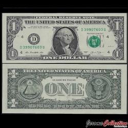 ETATS UNIS / USA - Billet de 1 DOLLAR - 2013 - D(4) Cleveland P537aD