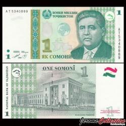 TADJIKISTAN - Billet de 1 Somoni - 1999
