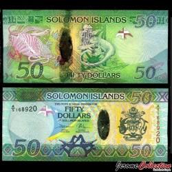 SALOMON (ILES) - Billet de 50 DOLLARS - 2013 / 2017 P35a2