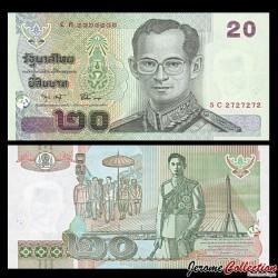 THAILANDE - Billet de 20 Baht - 2003