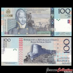 HAITI - Billet de 100 Gourdes - 2016