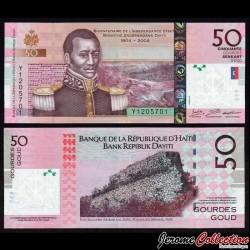 HAITI - Billet de 50 Gourdes - 2016