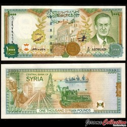 SYRIE - Billet de 1000 Pounds - 1997 P111b