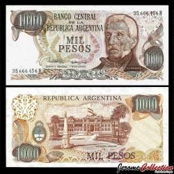ARGENTINE - Billet de 1000 Pesos - 1982 P304d1