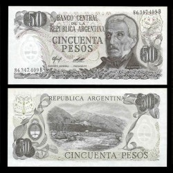 ARGENTINE - Billet de 50 Pesos - 1976 / 1978