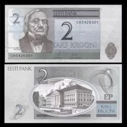 ESTONIE - Billet de 2 Krooni - 2007