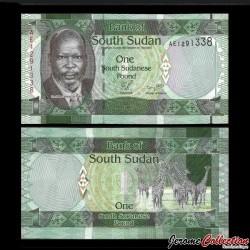 SUD SOUDAN - BILLET de 1 Livre Soudanaise - 2011