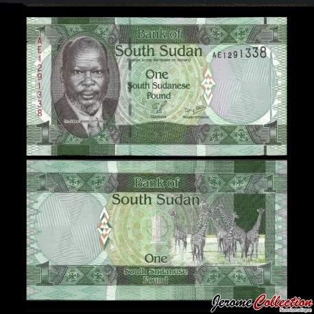 SUD SOUDAN - BILLET de 1 Livre Soudanaise - 2011 P5a