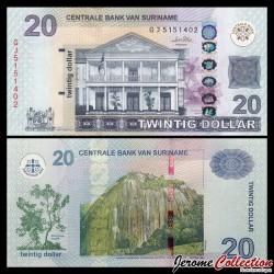 SURINAME - Billet de 20 DOLLARS - 01.09.2010