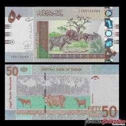 SOUDAN - BILLET de 50 Livres Soudanaise - 2015
