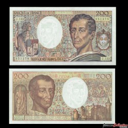FRANCE - BILLET de 200 Francs - Montesquieu - 1992