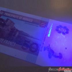MONACO - Billet de 50 Francs - Princesse Grace Kelly - 2014