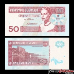 MONACO - Billet de 50 Francs - Princesse Grace Kelly - 2014
