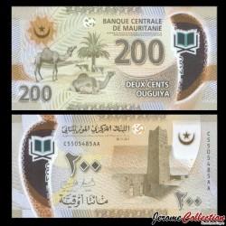 MAURITANIE - Billet de 200 Ouguiya - Polymer - 2017 P24a