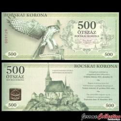 HONGRIE - Monnaie Locale - Billet de 500 Bocskai Korona - 2017
