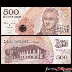 HONGRIE - Monnaie Locale - Billet de 500 Takaji Dukat - 2016/2017